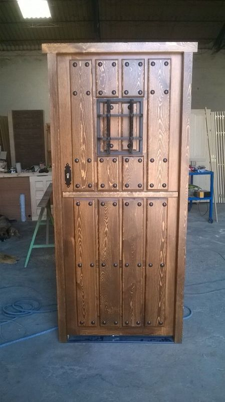 54 best puertas rustica exterior images on pinterest - Puerta rustica exterior ...
