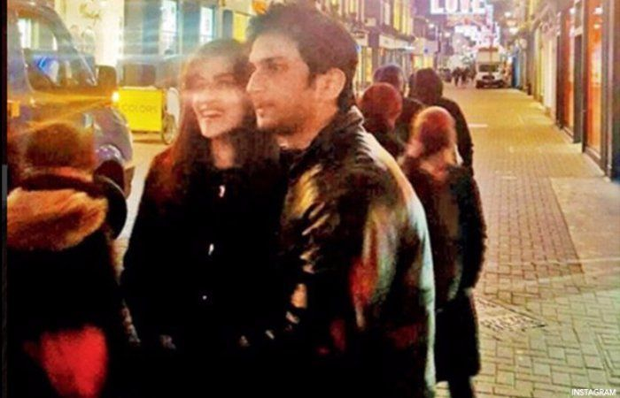 Spotted #Sushant & Kriti Holding hands in Public at #London Street! – is it Official now?