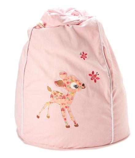 Cocoon couture sittesekk, lys rosa bambi