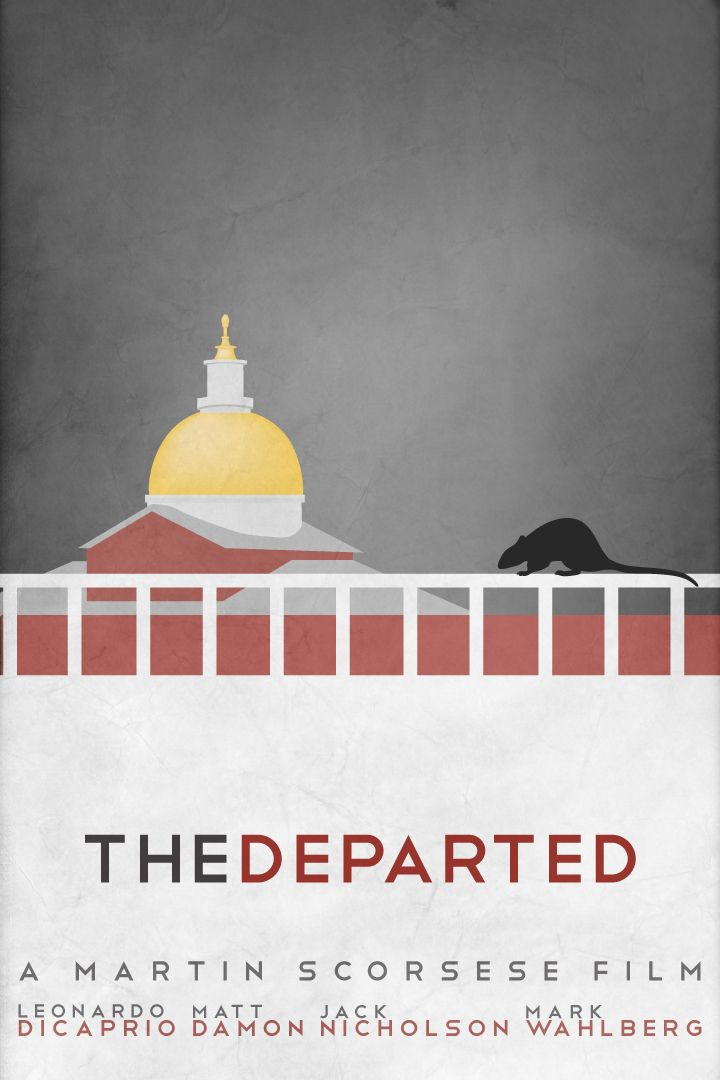 """The Departed"" Really like the simplicity, (but could stand a little something more I think)"
