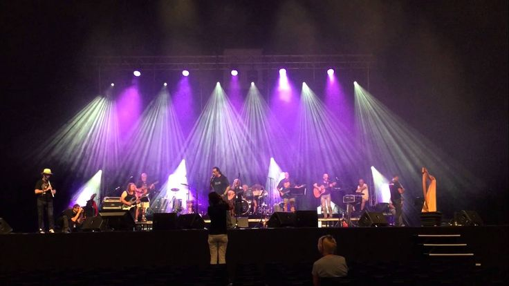 The legend of Oisin-rehearsal @ Zenith (Nantes) Roberto Tiranti
