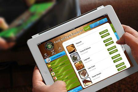 Restaurant Menu iPad   Restaurant Electronic Menu   Digital Menu for Restaurants