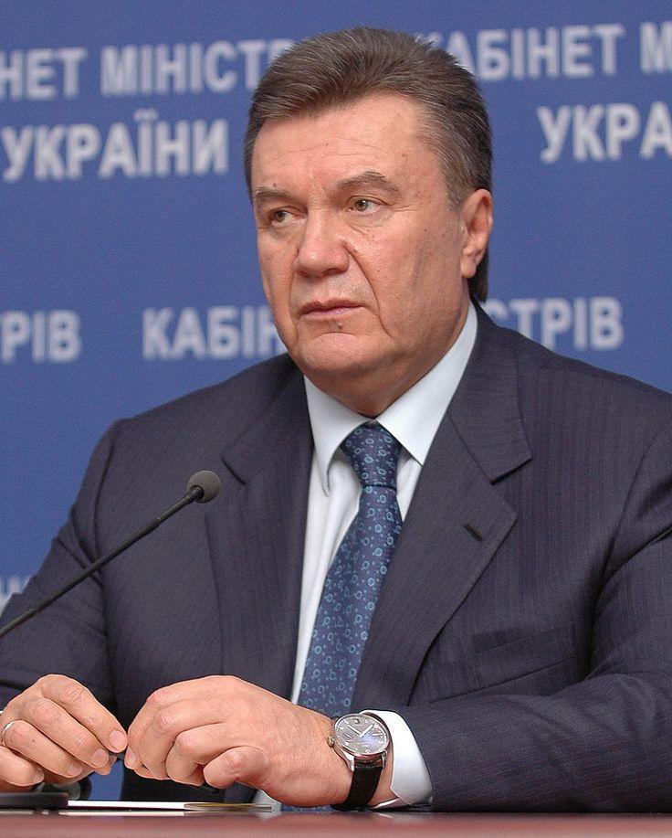 Viktor Janukovyč v roce 2010