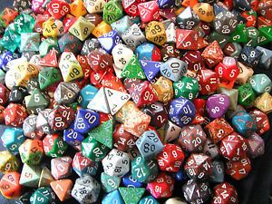 Lot-of-21-RPG-Dice-3-full-sets-of-7-for-Dungeons-Dragons-Next-Pathfinder-games