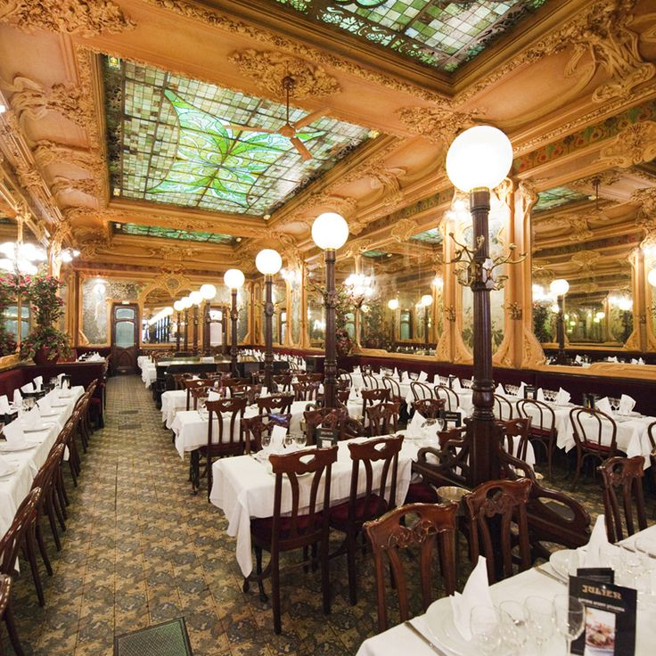 "Julien La salle, 3.5 miles from hotel, ""animated atmosphere, generous dishes, traditional brasserie with old-fashioned suited waiters, and old mirrors are everywhere."""
