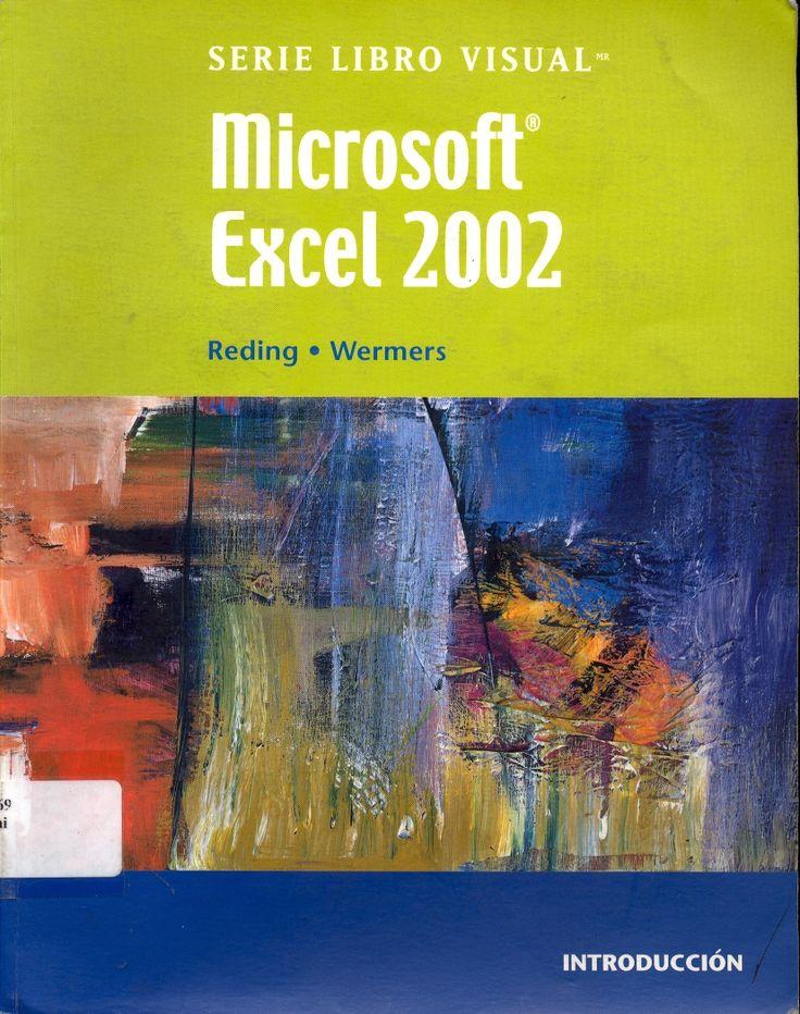 #microsoftexcel2002 #elizabethreding #excel #software #programadecomputación #escueladecomerciodesantiago #bibliotecaccs
