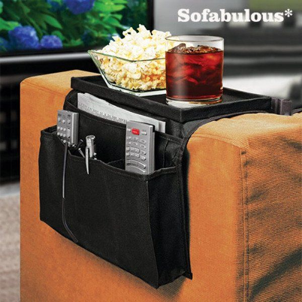 SOFABULOUS REMOTE CONTROL HOLDER WITH TRAY - Geeks Buy Gadgets