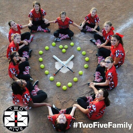 Great softball picture idea