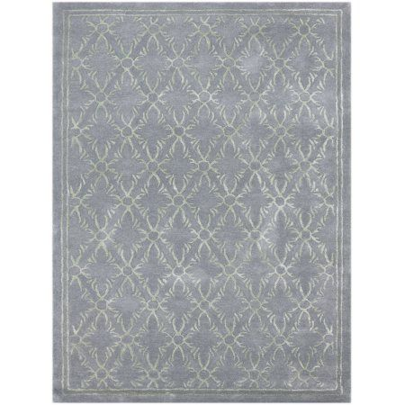 Serendipity Modern Design Hand-Tufted Rug 7'6 inchx9'6 inch, Blue