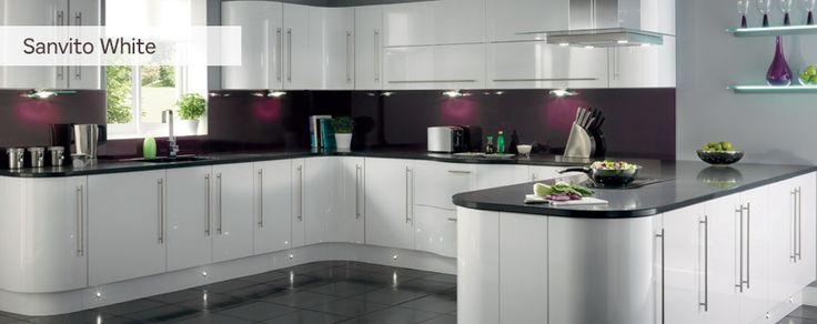 White Kitchen Unit Designs sanvito white | house ideas | pinterest | kitchens, house and wall