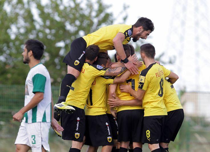 Φινάλε με νίκη για την ΑΕΚ #AEK