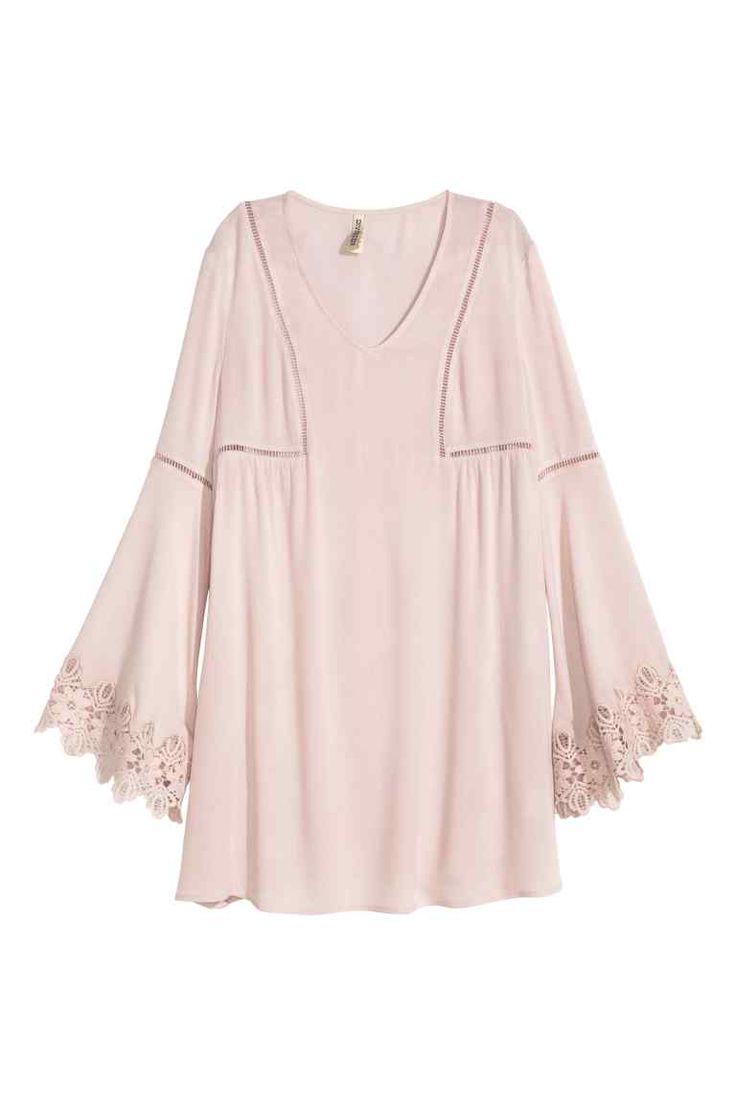 Kreszowana sukienka   H&M