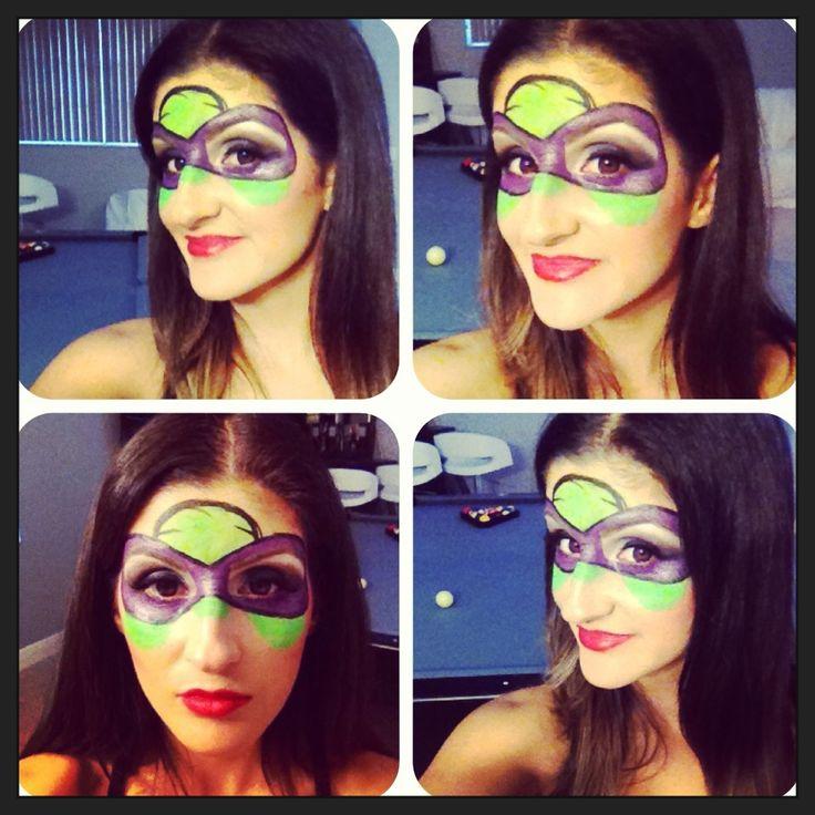 Ninja Turtle Makeup For Halloween | Halloween Costumes | Pinterest | Halloween Makeup For ...