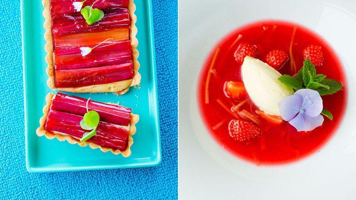 Suppe, pai og syltet: Her er tre råbra oppskrifter med rabarbra