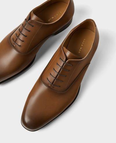 Zapato Vestir Zapatos Vestir Zapatos Hombre Zara Espana Zapatos