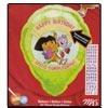 "Dora Personalized Birthday Mylar Balloon 18"""
