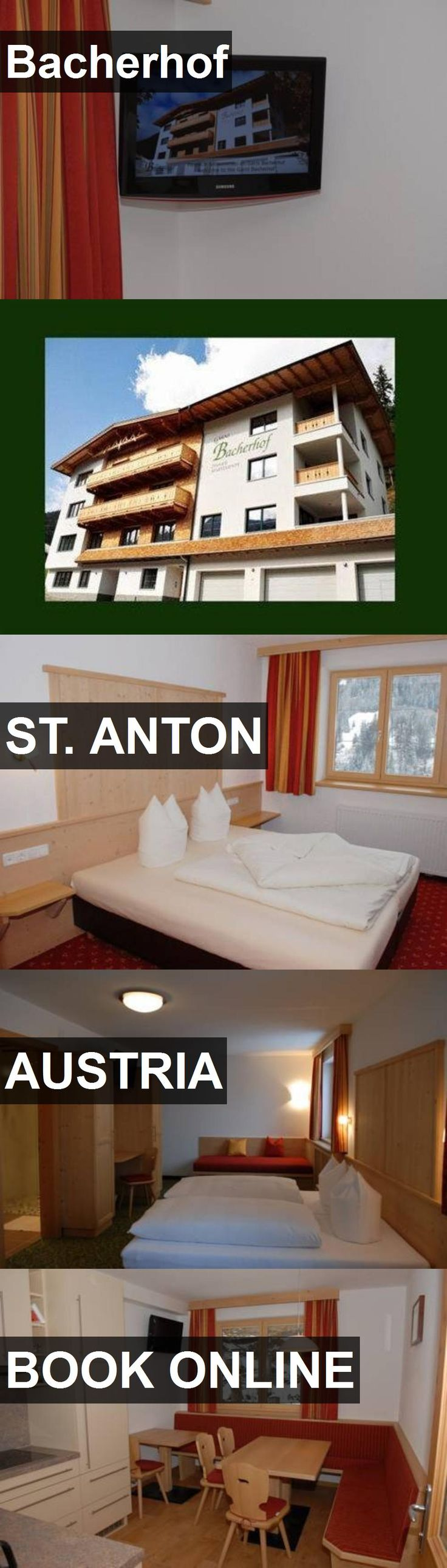 Hotel Bacherhof in St. Anton, Austria. For more information, photos, reviews and best prices please follow the link. #Austria #St.Anton #travel #vacation #hotel