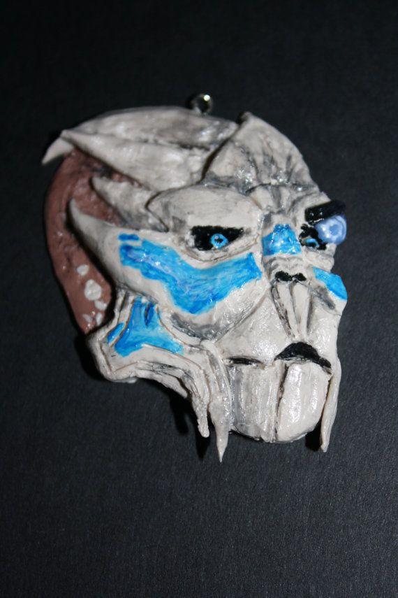 Mass Effect Garrus Pendant