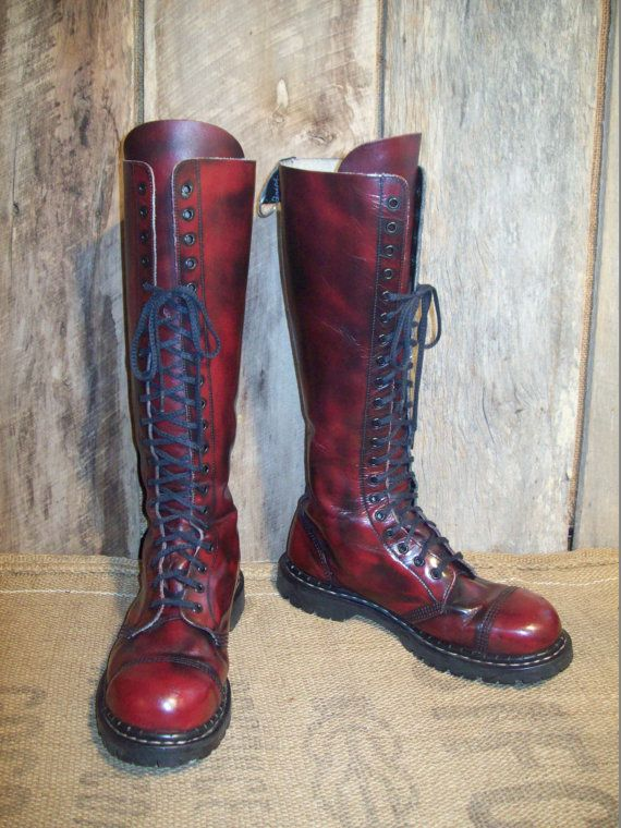 Vintage Gripfast Mens Lace Up Made In England by BarnDoorBootique