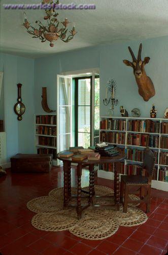 Ernest Hemingway's Writing Studio in Key West, Florida