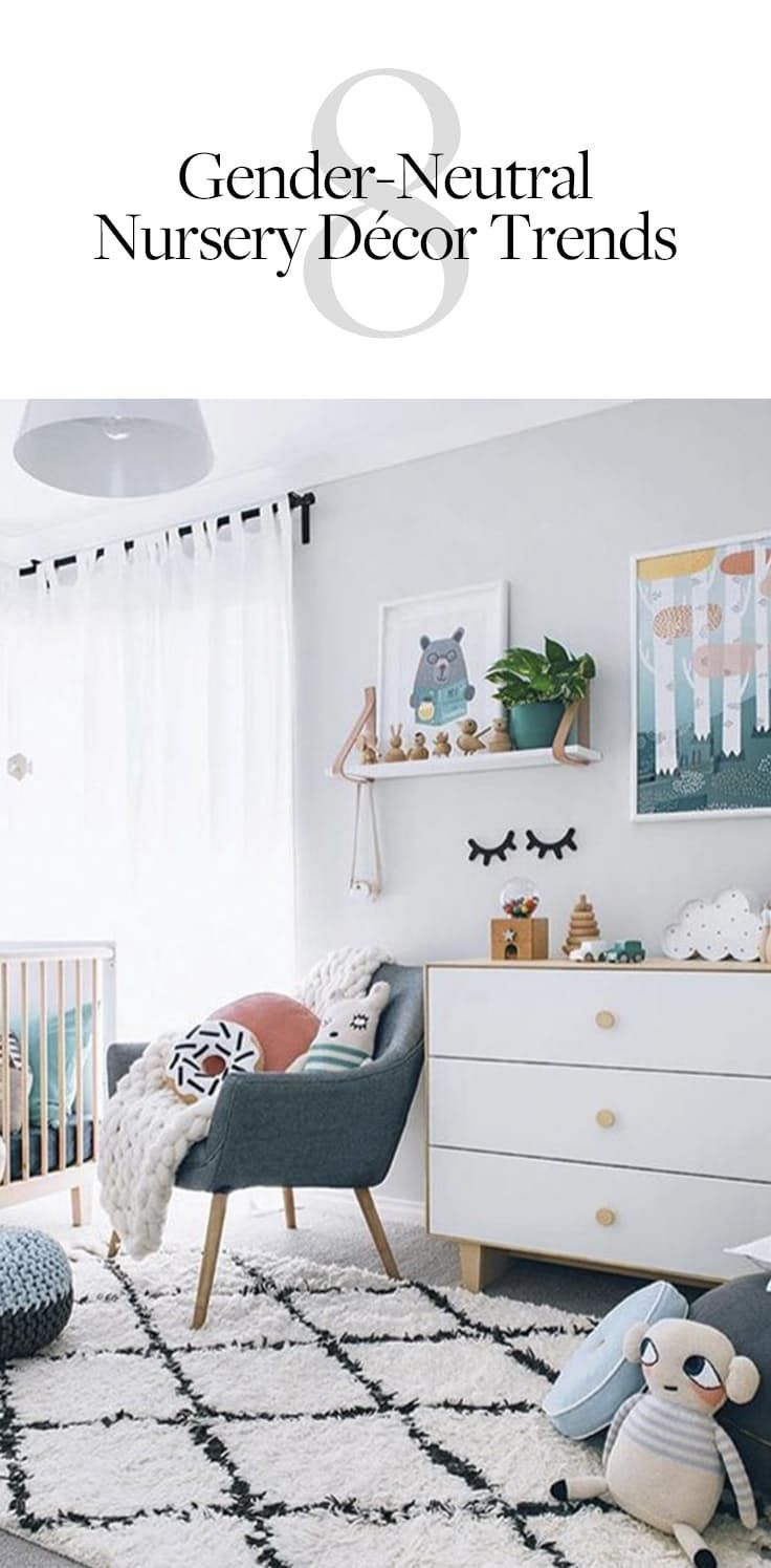 Kinderzimmermöbel Baby 8 Gender Neutral Nursery Decor Trends For Any Boy Or Girl Baby