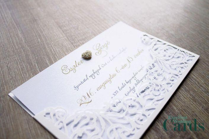 Little miracle esküvői meghívó