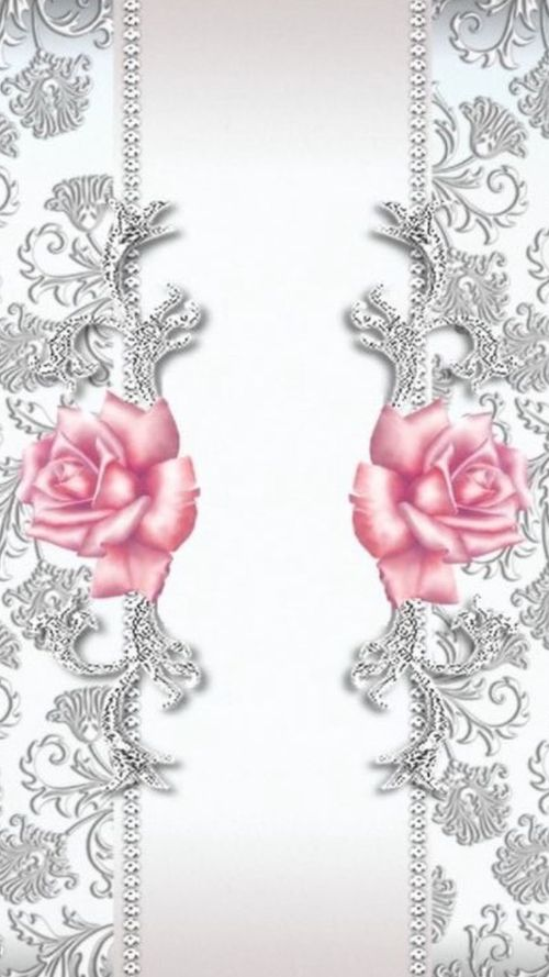 PINK ROSES •