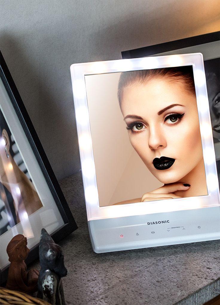 Diasonic Sminkspegel med LED belysning