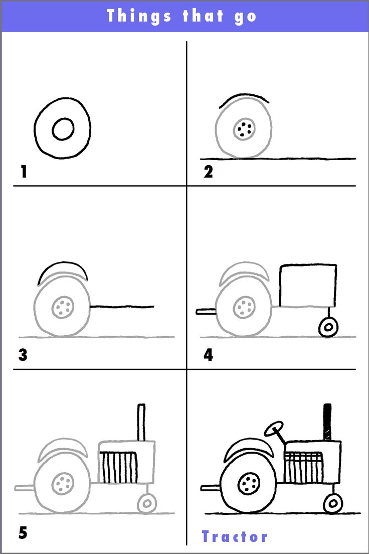 Try this fun tractor and why not put a funny character driving it? A salute to our hard working farmers...thank you!