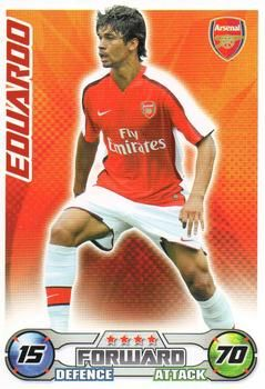 2008-09 Topps Premier League Match Attax Extra #5 Eduardo da Silva Front