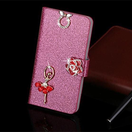 Leather PU Flip Case for Samsung GT S5830 for Samsung Galaxy Ace S5830 gt-s5830i cell phone Cover Cases with Card Holder
