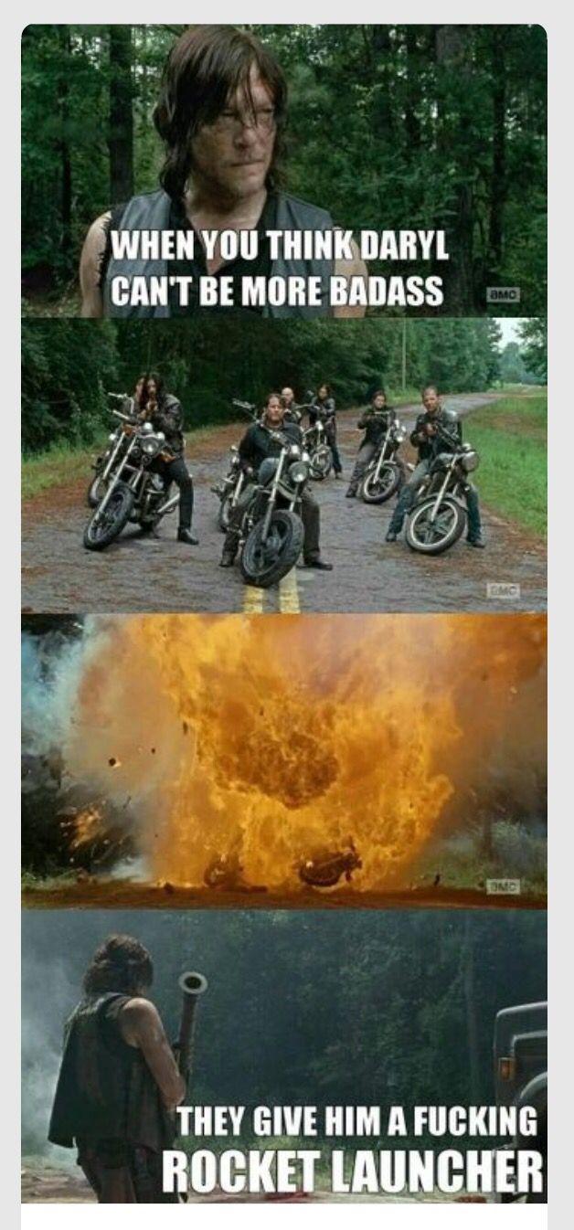 Definition of Badass: Daryl