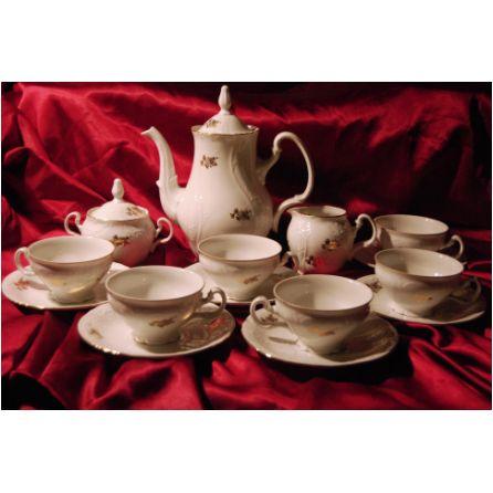Czech Bernadotte porcelain coffee set