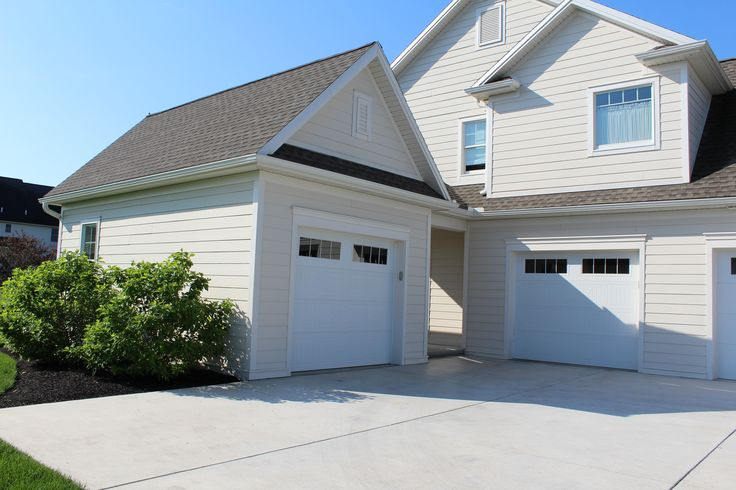 27 best our home 39 s exteriors images on pinterest for Custom detached garage
