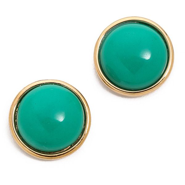 Marc By Marc Jacobs Geometic Big Dot Stud Earrings - Gypsy Gem (2.225 RUB) ❤ liked on Polyvore featuring jewelry, earrings, accessories, brincos, gemstone jewellery, marc by marc jacobs, gemstone jewelry, gemstone earrings and gem jewelry