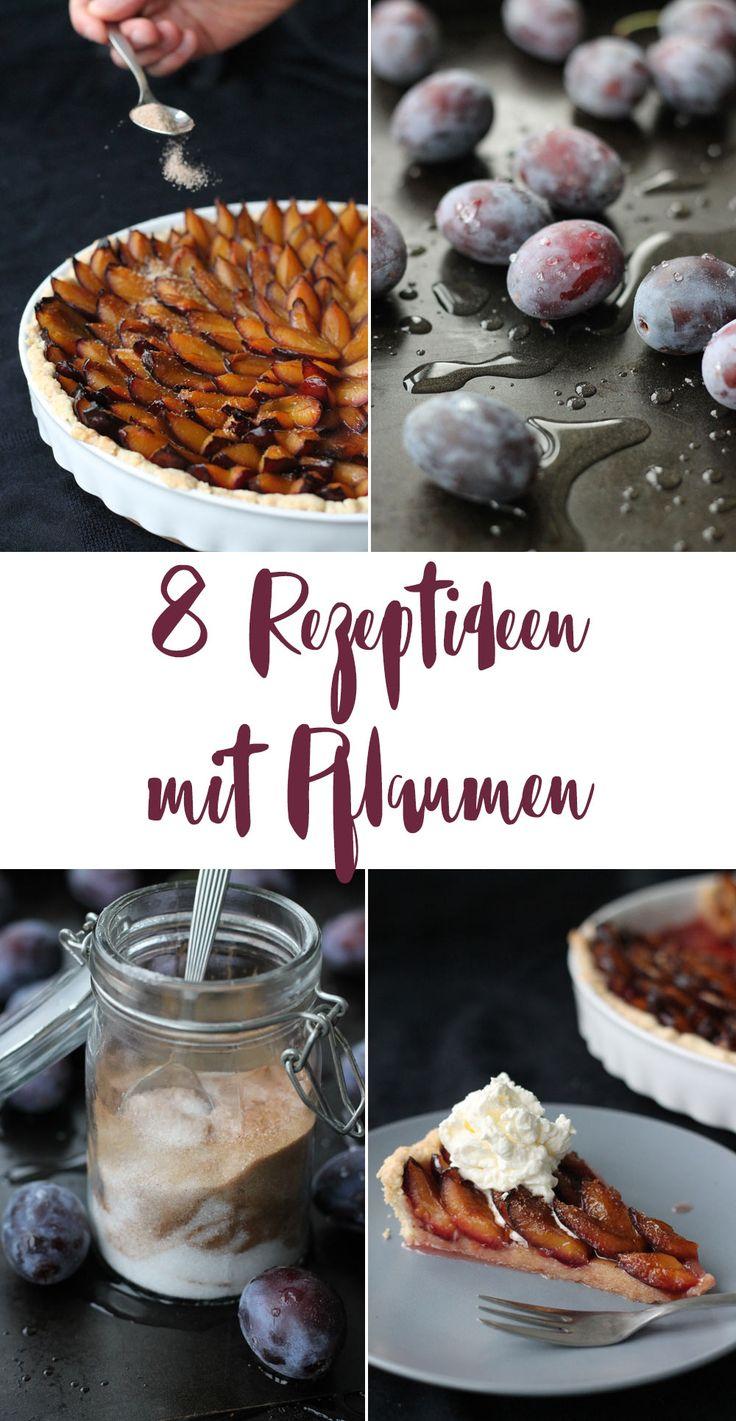 8 leckere Rezeptideen mit Pflaumen - Cupcakes, Kuchen, Marmelade und Likör