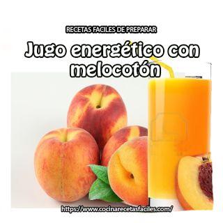 Jugo energético de mango y melocotón✅Rico en nutrientes, como el fósforo y vitamina B5, tiene betacaroteno, potasio y hierro, excelente fuente de energía.
