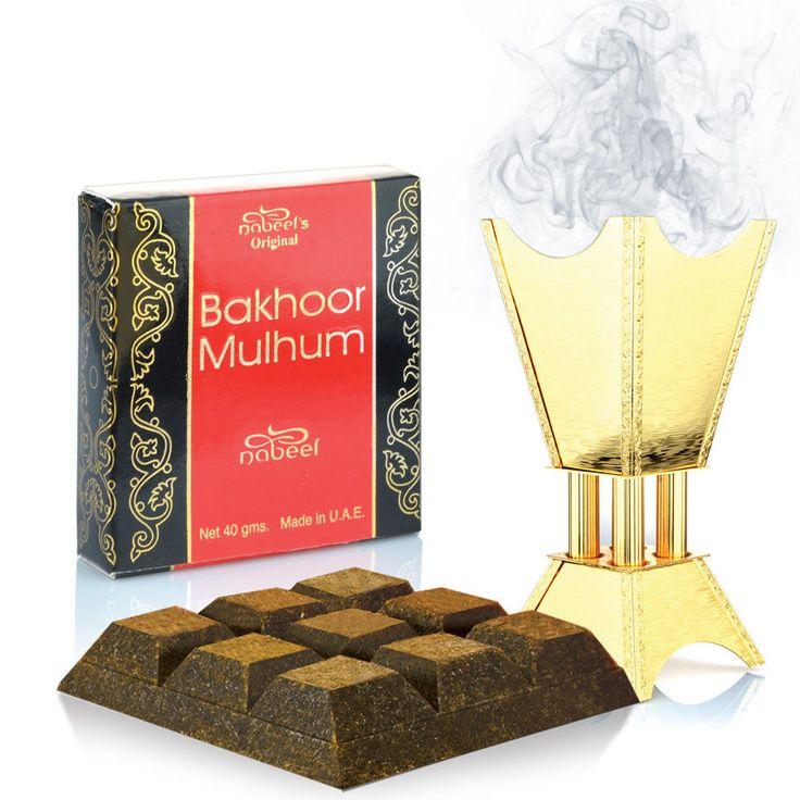 Nabeel Bakhoor Bukhoor Mulhum 40g Incense Home Fragrance
