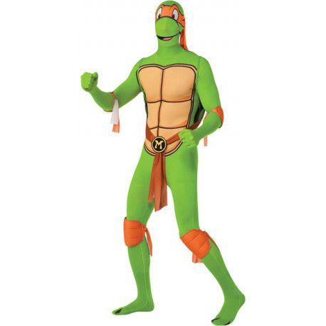 Disfraz de Michelangelo Tortuga Ninja Segunda Piel #TMNT #Costume #Michelangelo