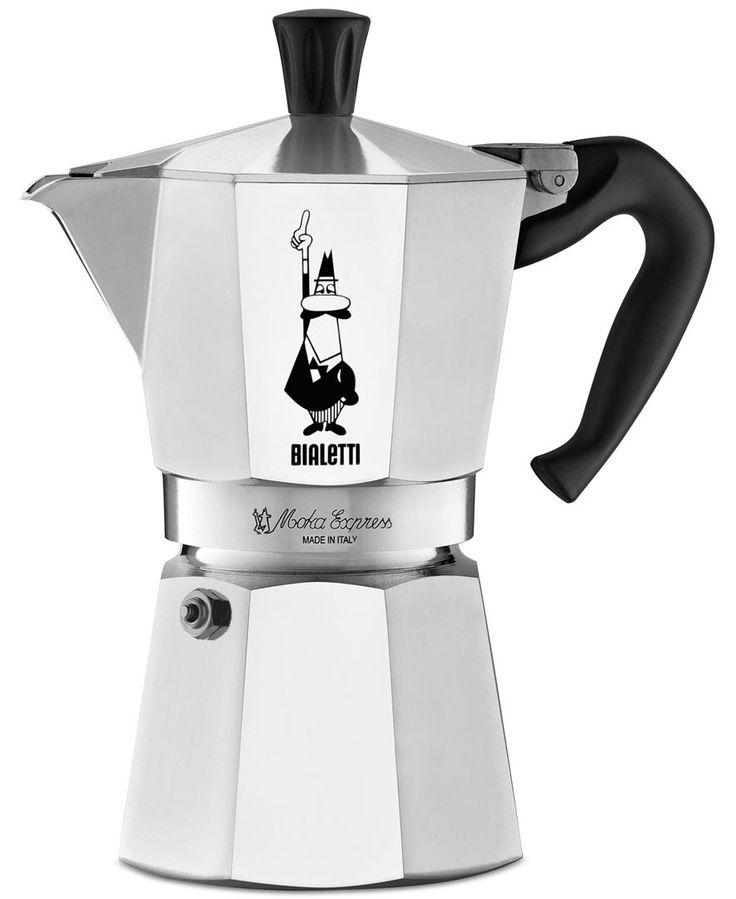 Bialetti Moka Express 6-Cup Stovetop Espresso Maker