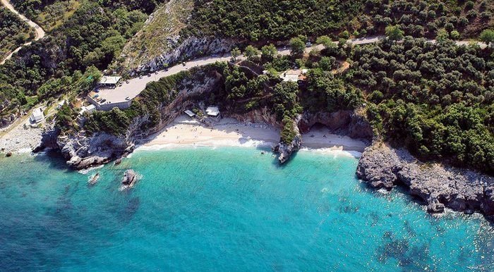 Mylopotamos beach Pelion Magnesia Thessaly Greece