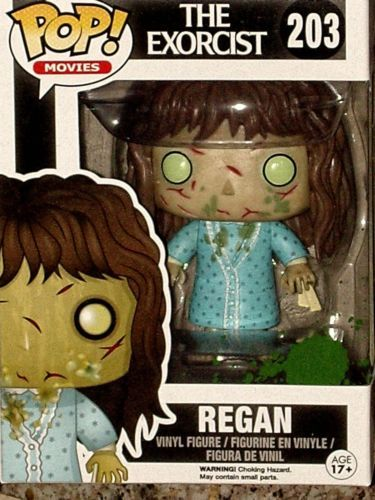 Action- & Spielfiguren Regan The Exorcist Der Exorzist Horror Pop Movies #203 Vinyl Figur Funko