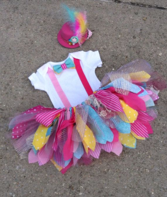 Vintage Circus outfit, Clown Outfit - ringmaster costume - shabby chic ringmaster tutu outfit, pink and turquoise circus birthday by LilNicks on Etsy