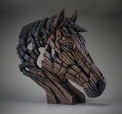 Edge Sculpture Pferdebüste Pferdekopf Horse