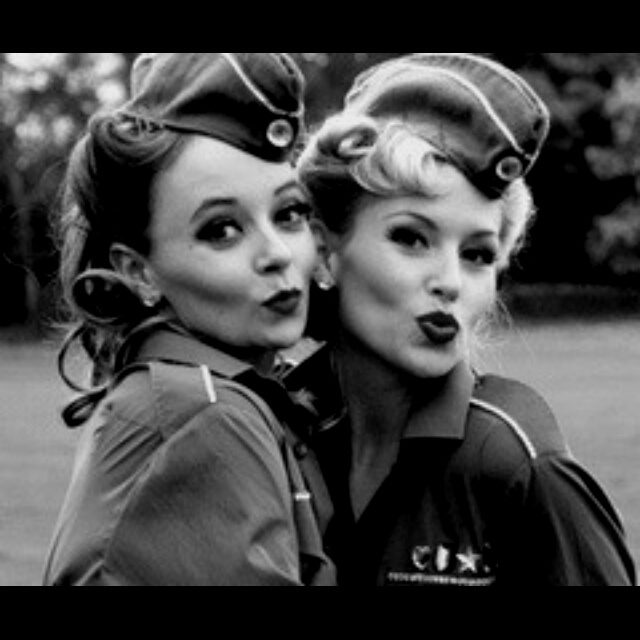 40's makeup & hair next year halloween