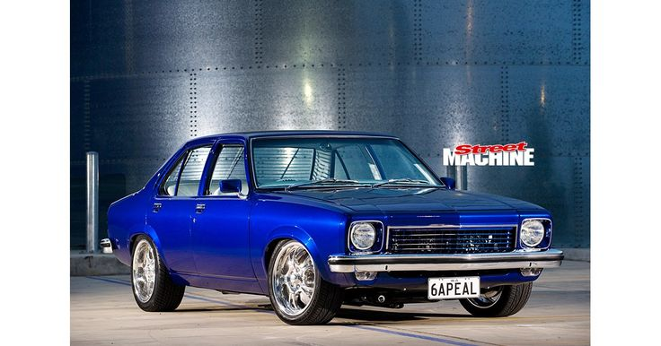 Alison and Gareth Lougher's award-winning 1975 Holden LH Torana 6APEAL proves you don't need a be...