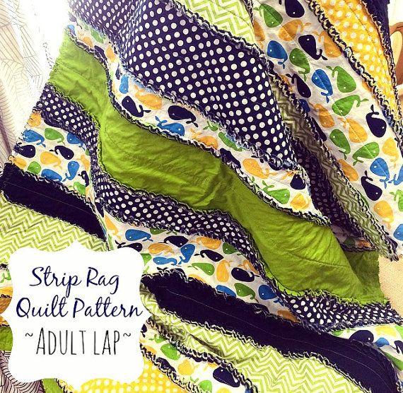 Best 25+ Strip rag quilts ideas on Pinterest | Rag quilt, Flannel ... : string pieced rag quilt pattern - Adamdwight.com