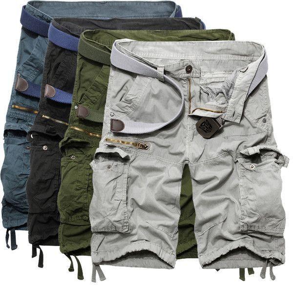 Mens Trendy Cargo Shorts #MensFashionShorts