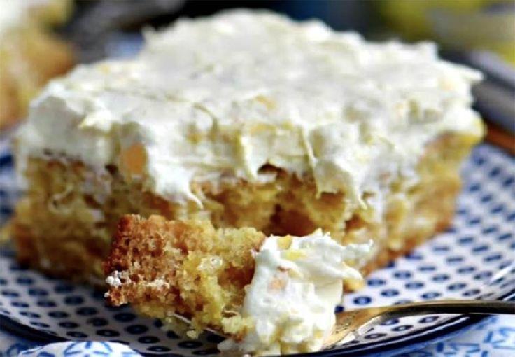 Recette: Gâteau irrésistible aux ananas
