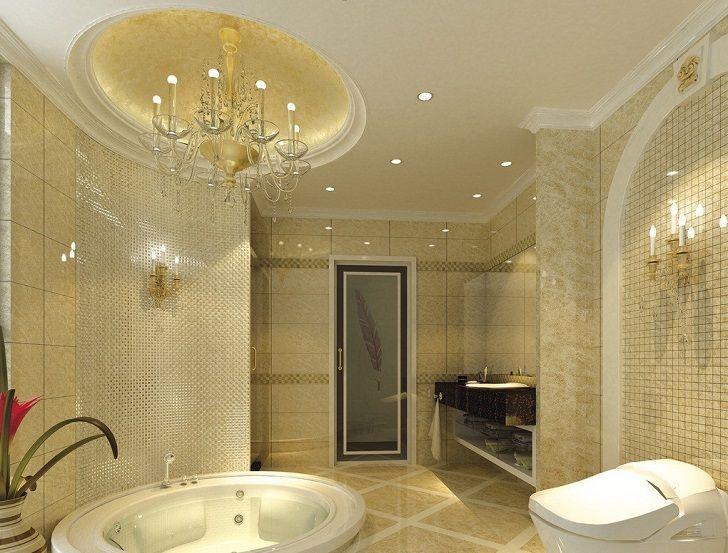 Bathroom Ceiling Design Ideas Can Be A Major Highlight Of The Interior Modern Bathroom Ceiling Designs G Bathroom Ceiling Ceiling Design Guest Bathroom Design